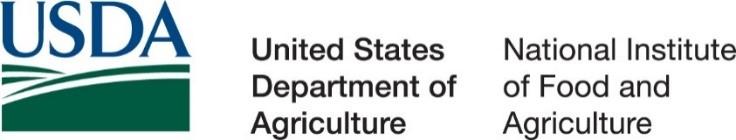 USDA NIFA sponsorship