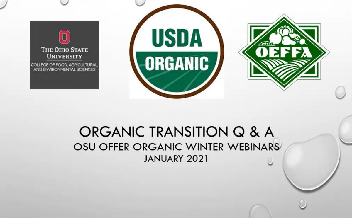 organic transition QA